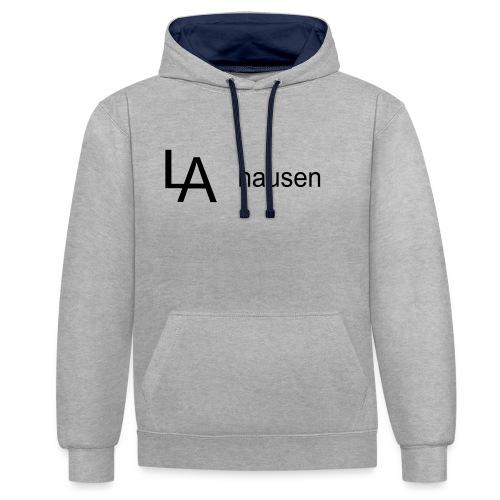 la hausen - Kontrast-Hoodie