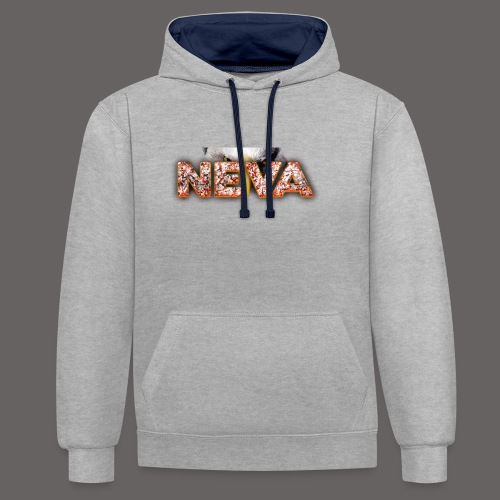 Neva logo - Sweat-shirt contraste