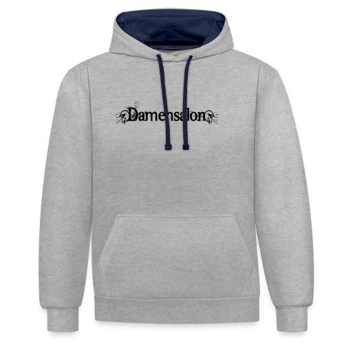 damensalon2 - Kontrast-Hoodie
