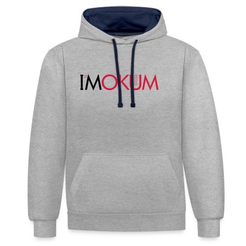 I'Mokum, Mokum magazine, Mokum beanie - Contrast hoodie