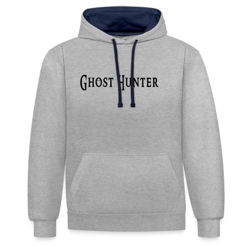 Ghost Hunter - Kontrast-Hoodie