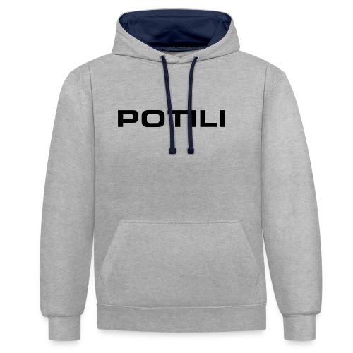 Potili - Contrast Colour Hoodie
