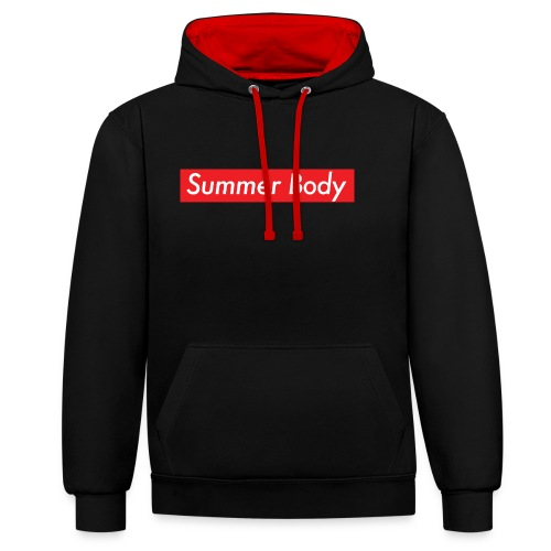 Summer Body - Sweat-shirt contraste