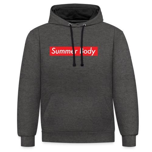 Summer Body - Sweat-shirt contraste