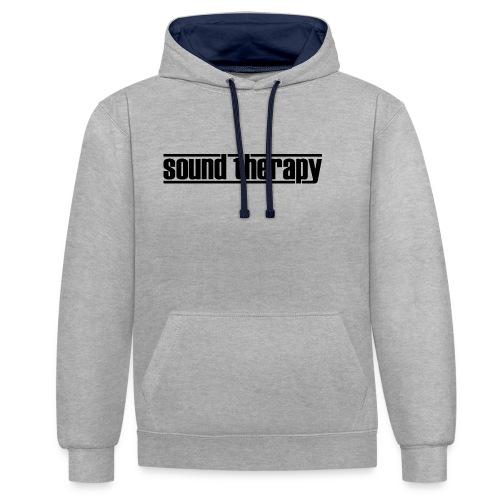 Sound Therapy (black) - Kontrastluvtröja