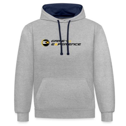 Maglietta Game-eXperience - Felpa con cappuccio bicromatica