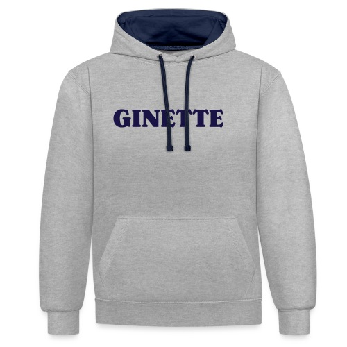 Ginette, simple, efficace - Sweat-shirt contraste