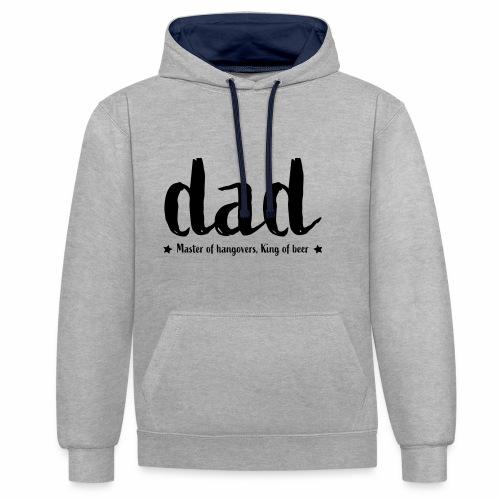 Dad - Contrast hoodie