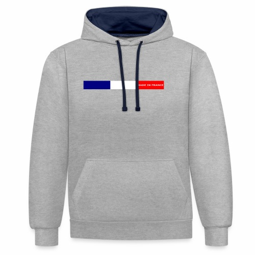 Made in France - Contrast Colour Hoodie