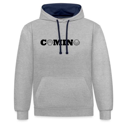 Camino - Kontrast-hættetrøje
