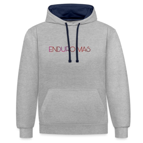 Enduro MAS - Sweat-shirt contraste
