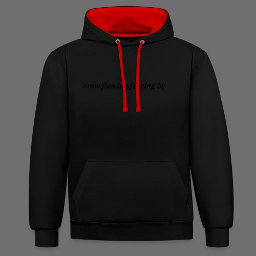 wwww.flandersfencing.be - Contrast hoodie
