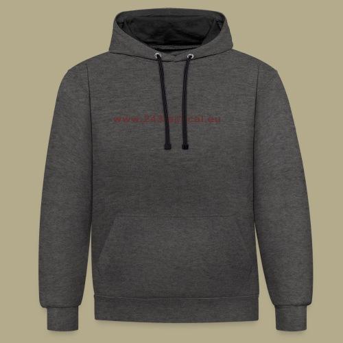 .243 Tactical Website - Contrast hoodie