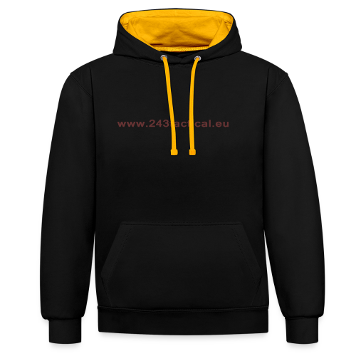 .243 Tactical Website - Contrast hoodie
