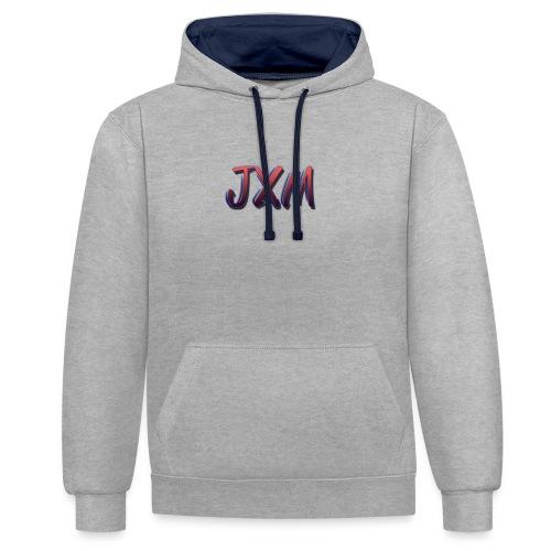 JXM Logo - Contrast Colour Hoodie
