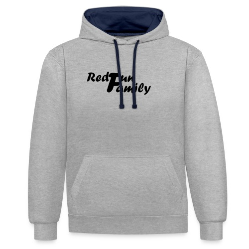 RedfunFamily - Sweat-shirt contraste