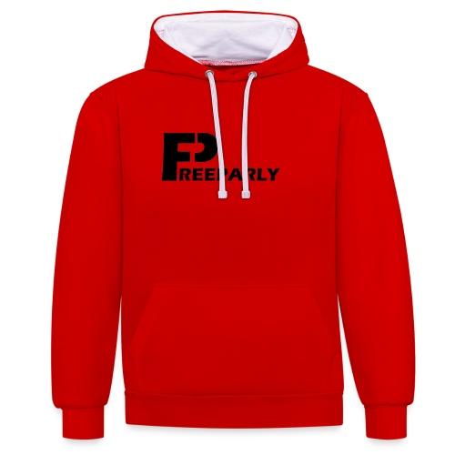 Freeparly - Contrast hoodie