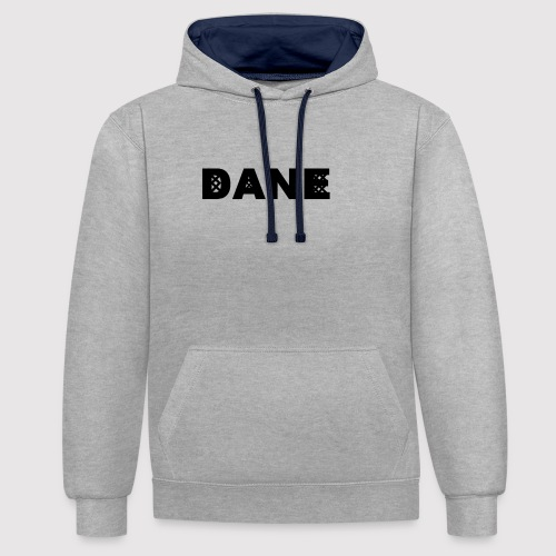 DANE - Knitted Original - Contrast Colour Hoodie