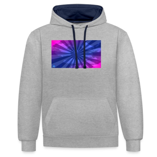 youcline - Contrast Colour Hoodie