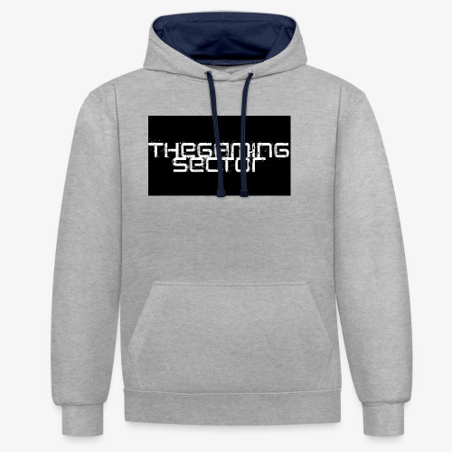 TheGamingSector Merchandise - Contrast Colour Hoodie