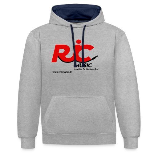 RJC Music avec site - Sweat-shirt contraste