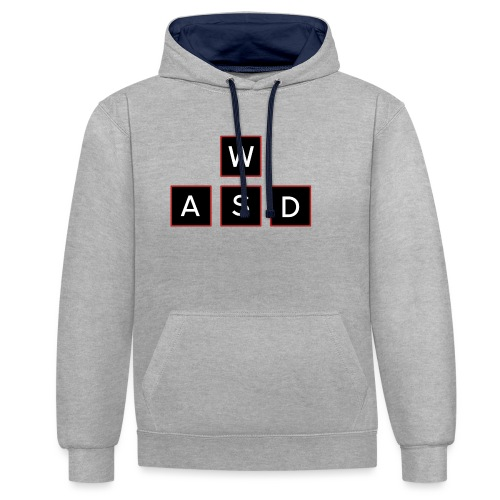 aswd design - Contrast hoodie