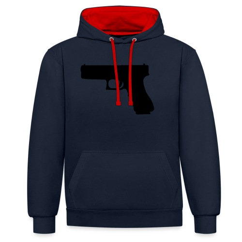 The Glock 2.0 - Contrast Colour Hoodie