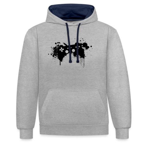 Speel harde controller - Contrast hoodie