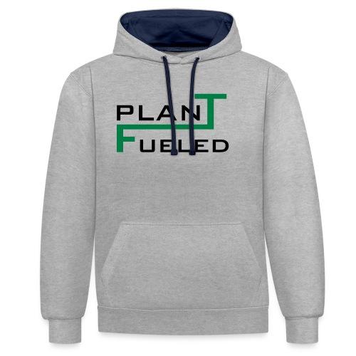 PLANT FUELED - Kontrast-Hoodie