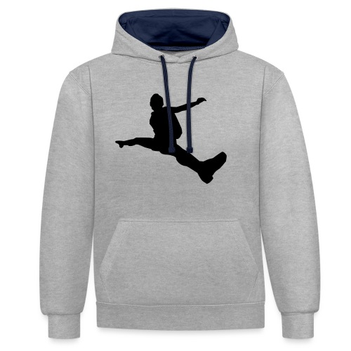 Freestyle-Skydive - Kontrast-Hoodie