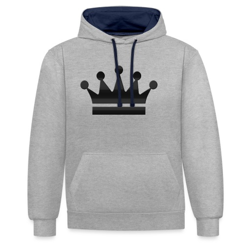 crown - Contrast hoodie