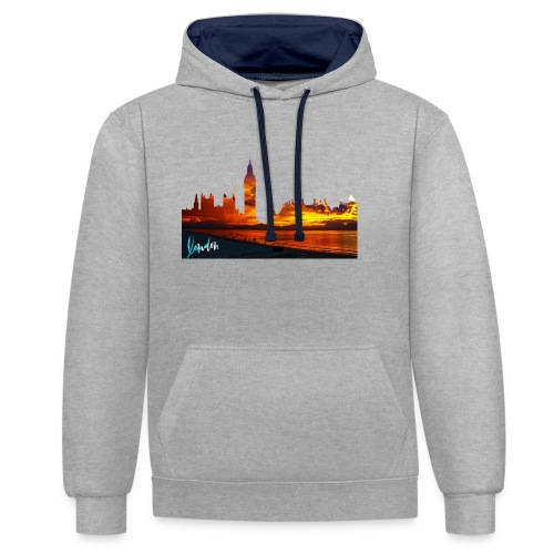 LONDON HYPE - Sweat-shirt contraste