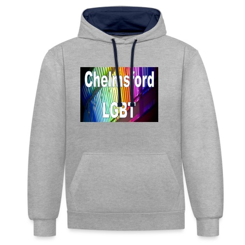 Chelmsford LGBT - Contrast Colour Hoodie