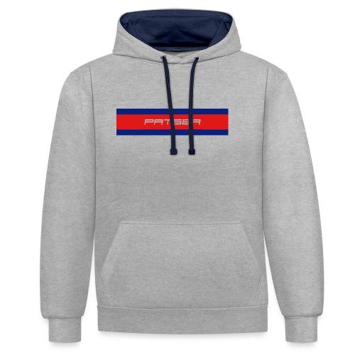 PATSER - Contrast hoodie
