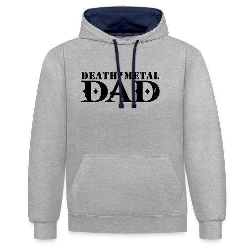 death metal dad - Contrast hoodie