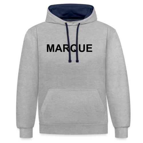 MARQUE - Sweat-shirt contraste