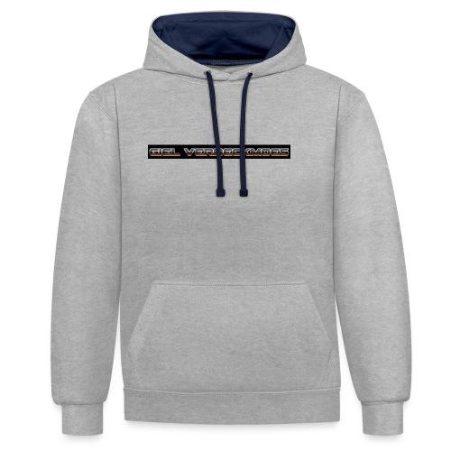gielverberckmoes shirt - Contrast hoodie