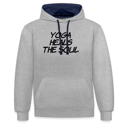yoga - Contrast hoodie