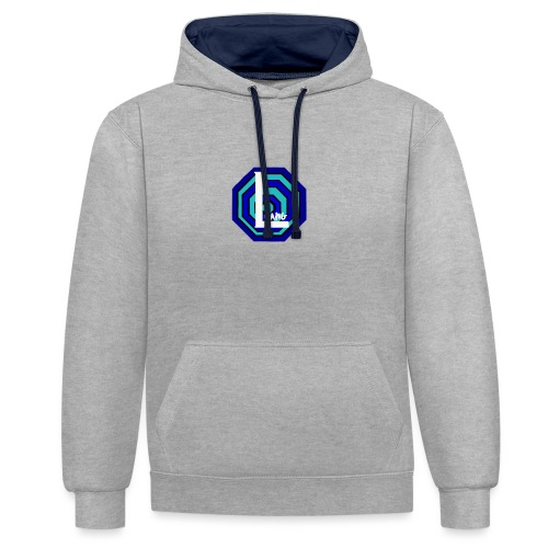 labs - Contrast Colour Hoodie
