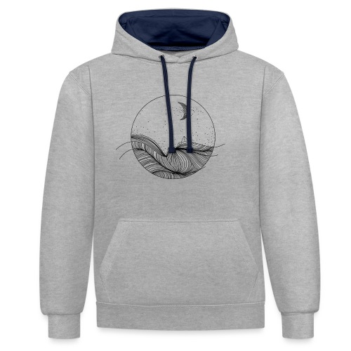 Wegdromen - Contrast hoodie