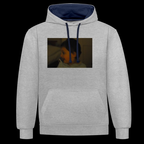 Boby store - Contrast Colour Hoodie