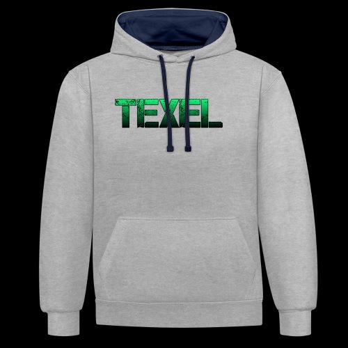 Texel - Contrast hoodie