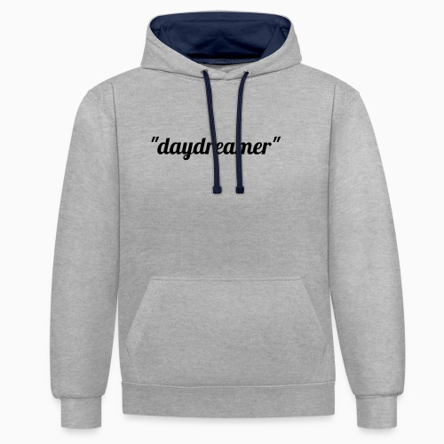 daydreamer - Contrast Colour Hoodie