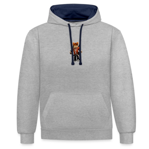 Alexhill2233 Minecraft - Contrast Colour Hoodie
