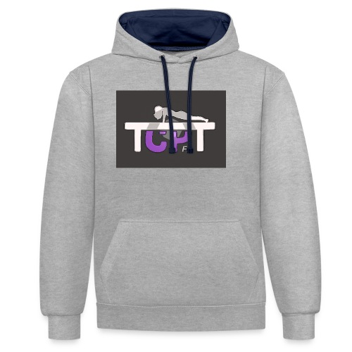 TCPTFit - Contrast Colour Hoodie