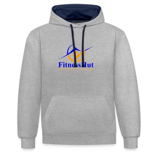 FitnessHutUK Logo Kit - Contrast Colour Hoodie