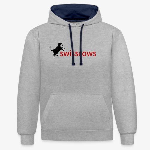Swisscows - Kontrast-Hoodie