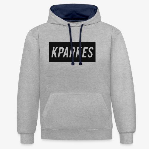 KPARKES Design - Contrast Colour Hoodie