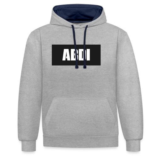 Abdi - Contrast Colour Hoodie