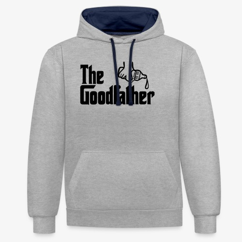 The Goodfather Phone & Tablet Cases - Contrast Colour Hoodie